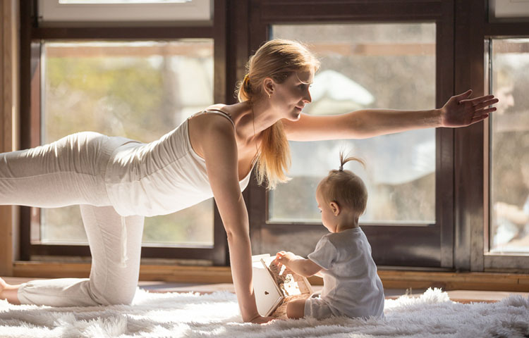 Pilates Beneficial for New Mothers